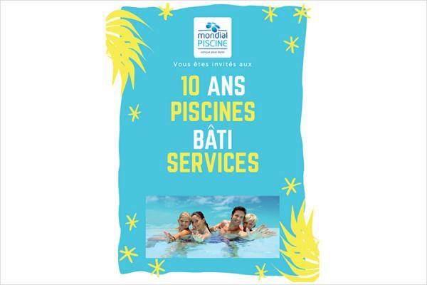 Piscines Bati Services fête ses 10 ans !